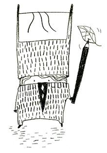 -BILINGUAL EDITION (ENGLISH-SLOVENIAN)- a series of diverse works by Slovenian artist Saša Kerkoš, capturing the ancient Slavic mythological creature known as the 'Kurent' - Minimundus Edition  #14, Feb. 2016, 56 p., 7 eur