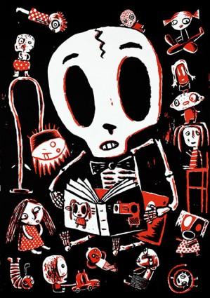 Stripburger na festivalu Vendetta, 16.–17. dec. 2017, Marseille, Francija (poster: Max Andersson)