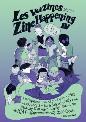 Stripburger at Zine Happening IV, 5 & 6 May 2018, Gent, Belgium